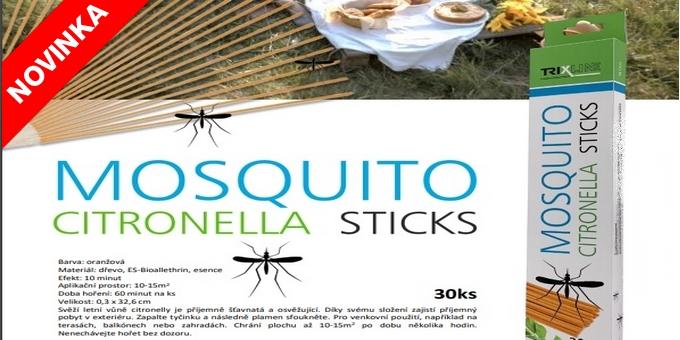NOVINKA v boji proti komárům!